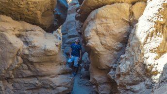 Anza-Borrego Desert, California, USA. Family Travel / Adventure. The Slot Attraction