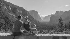 Yosemite National Park, California, USA. Landscape. Family. Solitude. Mountain View. Glacier Point.