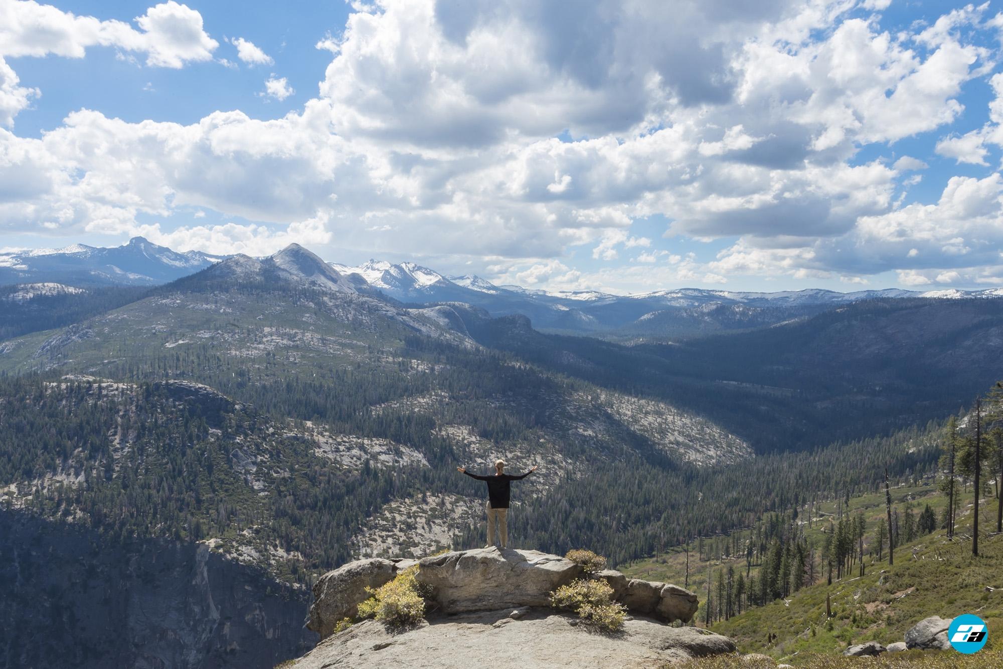 Yosemite National Park, California, USA. Landscape. Explorer. Solitude. Mountain View. Glacier Point.