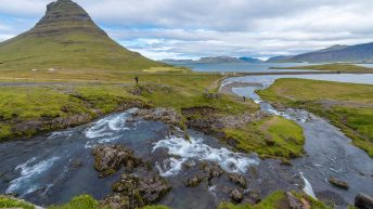 Iceland Travel, Ring Road, Kirkjufell Mountain, Grundarfjördur