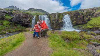 Iceland Travel, Ring Road. Kirkjufell Mountain, Grundarfjördur