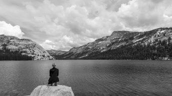 Yosemite National Park, California, USA. Landscape. Solitude. Mountain View. Lake View.