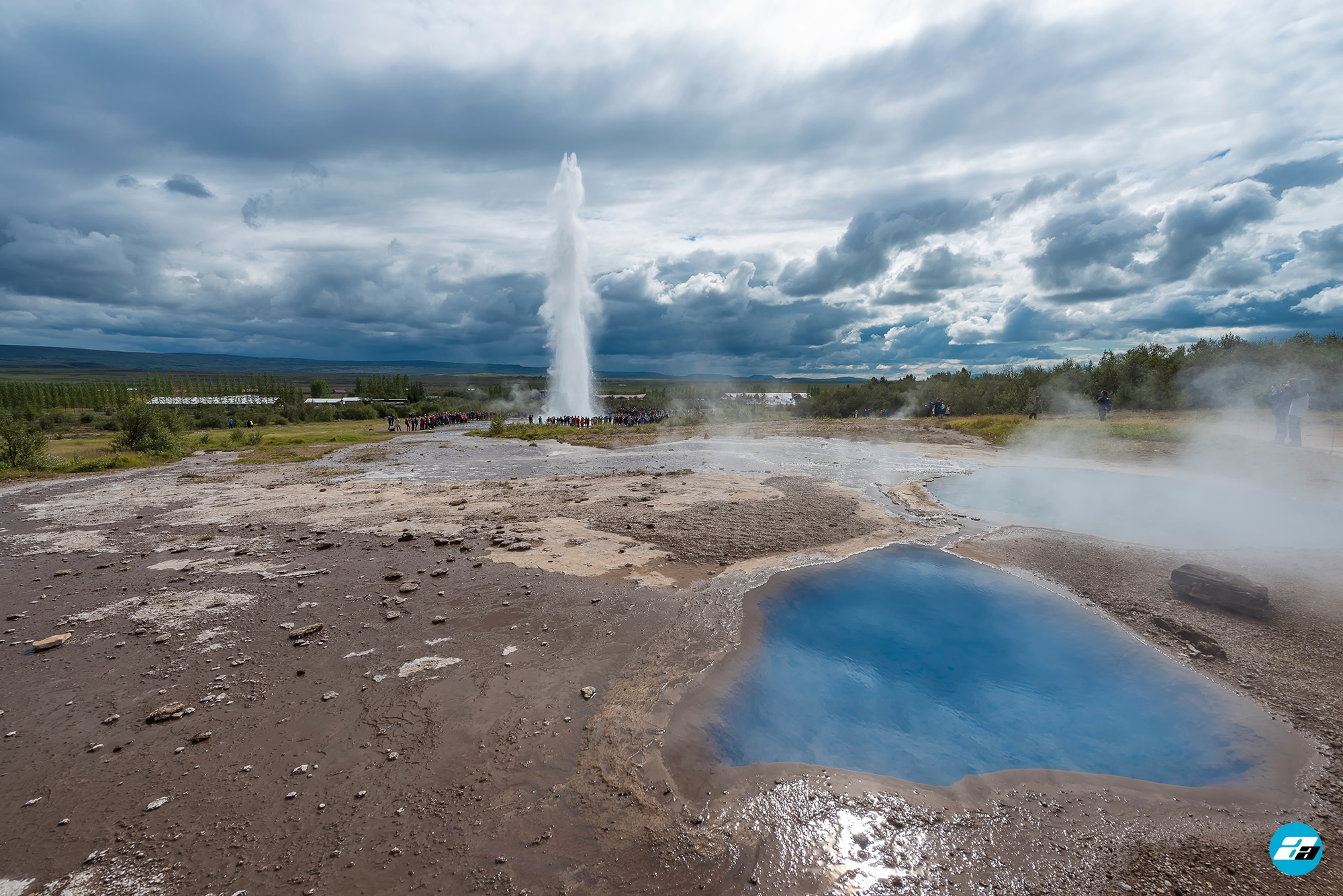Iceland Travel, Ring Road, Geysir Hot Springs, Golden Circle