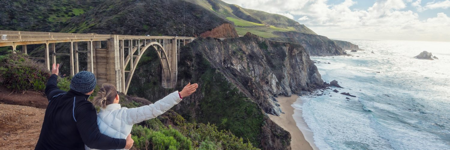 Big Sur, Bixby Bridge, California