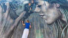 LA Arts District, Los Angeles, Graffiti, Art