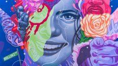 LA Arts District, California, Graffiti Art