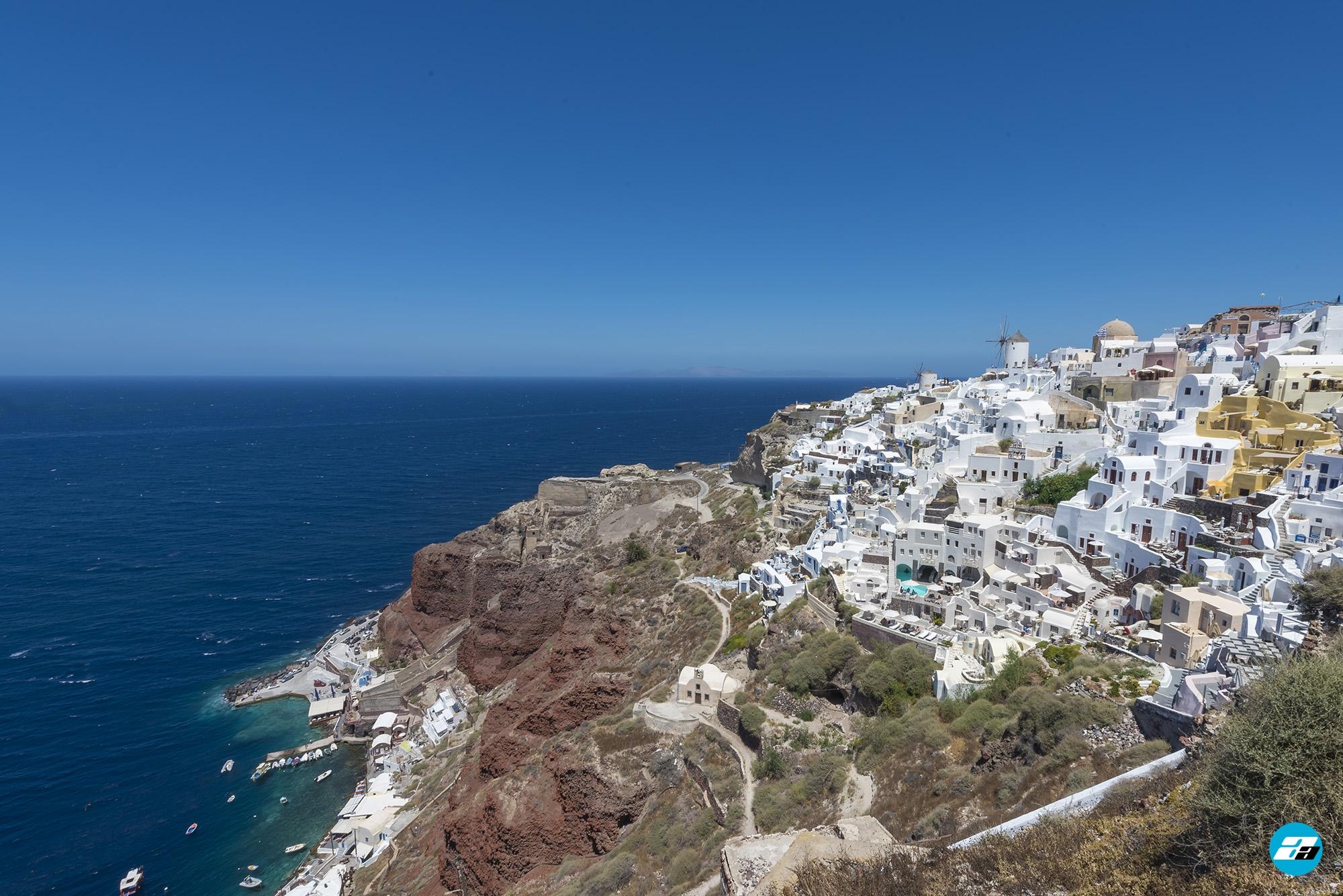 Oia, Santorini, Greece. Santorini Travel.