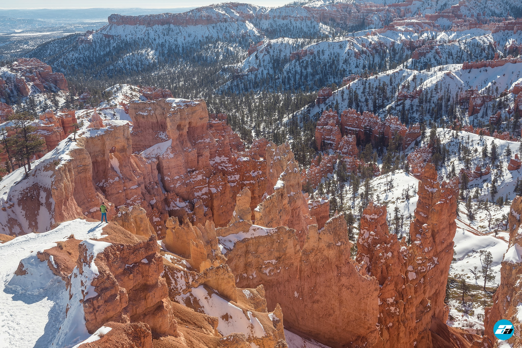 Bryce Canyon National Park, Utah, Arizona. Hiking. Valley. Canyon