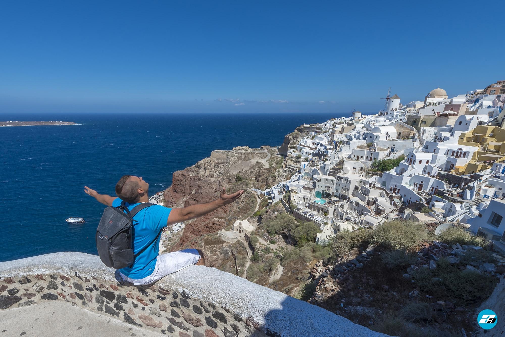 Oia, Santorini, Greece. Santorini Travel. Explorer. Traveler.