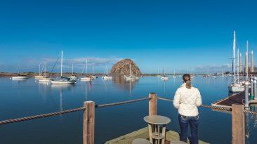 Moro Bay, Moro Rock, California, Pacific Coast Highway
