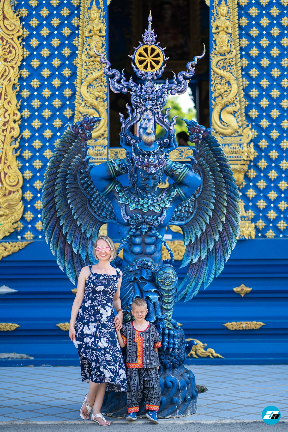 Thailand Blue Temple